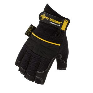 Dirty Rigger Comfort Fit Fingerless Rigger Glove