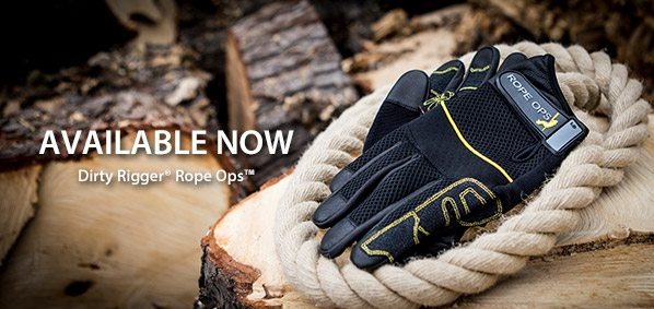 Dirty Rigger Rope Ops Available Now