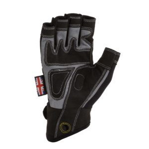 Dirty Rigger Comfort Fit™ Fingerless Rigger Glove (Palm)