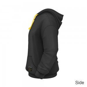 Dirty Rigger Hoodie Zip-Up (side view)