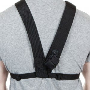 Dirty Rigger LED Chest Rig (Back view)