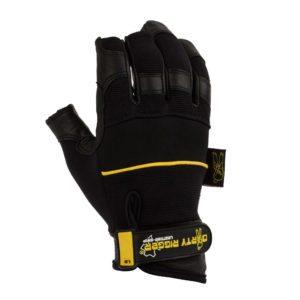 Dirty Rigger Leather Grip Framer Rigger Glove (Back)