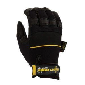 Dirty Rigger Leather Grip Rigger Glove (Back)