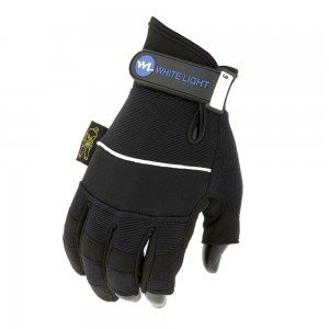Dirty Rigger® Comfort Fit Rigger Gloves with custom branded wrist tab.