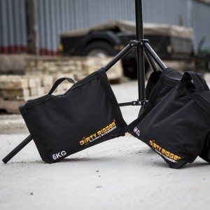 Dirty Rigger 6kg Shot Bags (Lifestyle Shot)