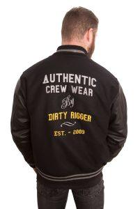 Dirty Rigger Varsity Jacket (Back)