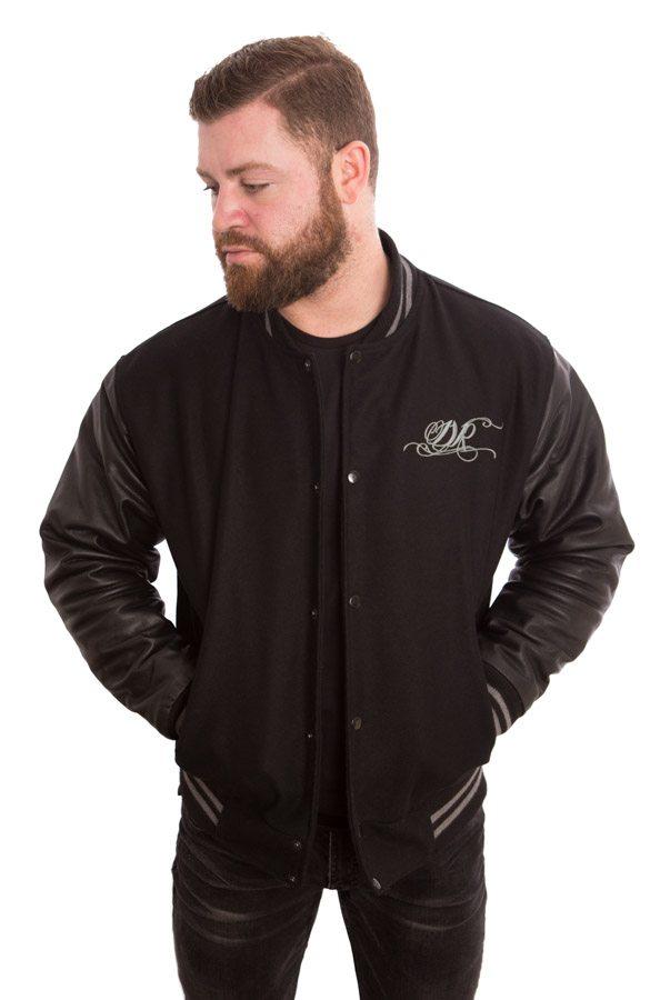Dirty Rigger Varsity Jacket (Front)