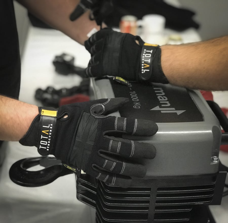 Dirty Rigger Custom Gloves for Total Structures