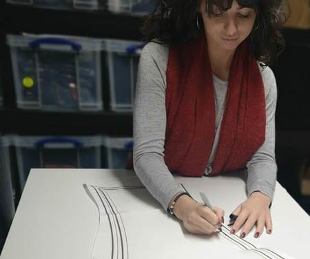 Women's workwear trousers - Pattern making