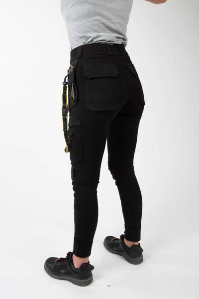 Women's workwear trousers back